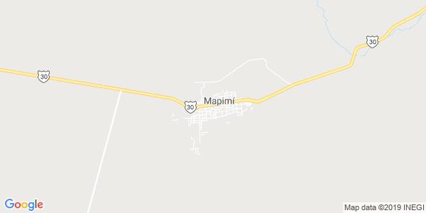 Mapa de MAPIMÍ