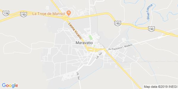 Mapa de MARAVAT�O