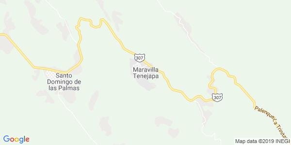 Mapa de MARAVILLA TENEJAPA