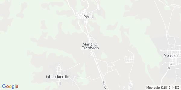 Mapa de MARIANO ESCOBEDO