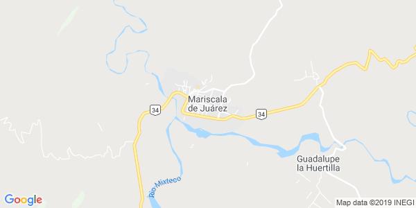 Mapa de MARISCALA DE JU�REZ