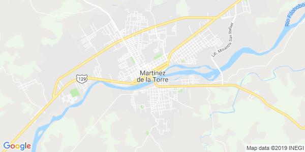 Mapa de MARTÍNEZ DE LA TORRE