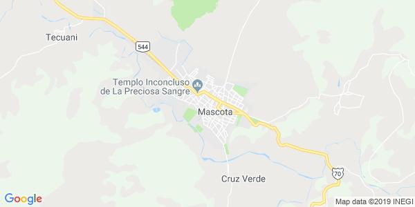 Mapa de MASCOTA
