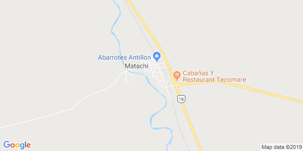 Mapa de MATACHI