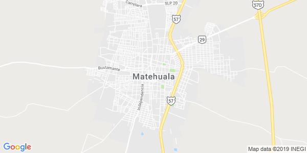 Mapa de MATEHUALA