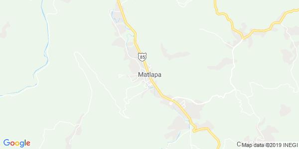 Mapa de MATLAPA