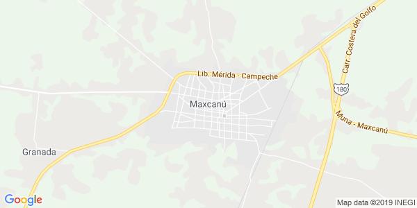 Mapa de MAXCAN�