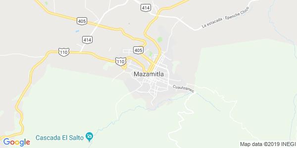 Mapa de MAZAMITLA