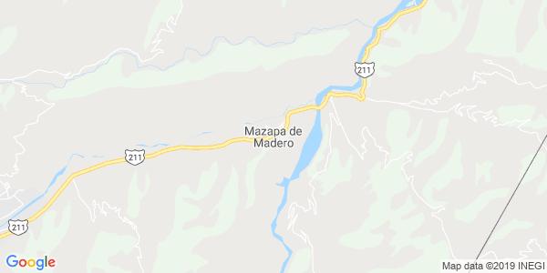 Mapa de MAZAPA DE MADERO