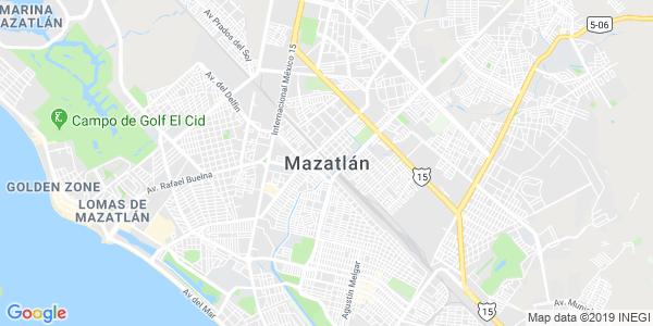 Mapa de MAZATLÁN