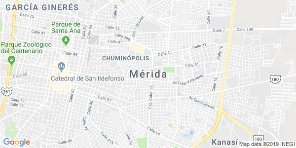Mapa de M�RIDA