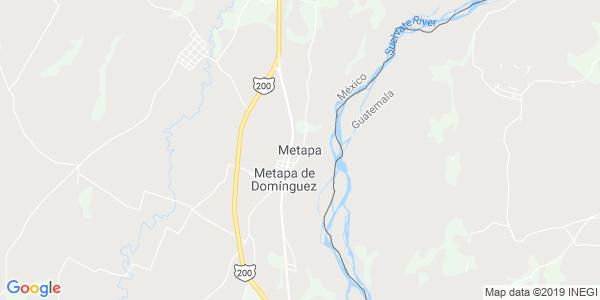 Mapa de METAPA