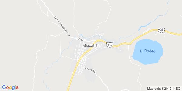 Mapa de MIACATLÁN