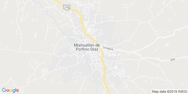 Mapa de MIAHUATL�N DE PORFIRIO D�AZ
