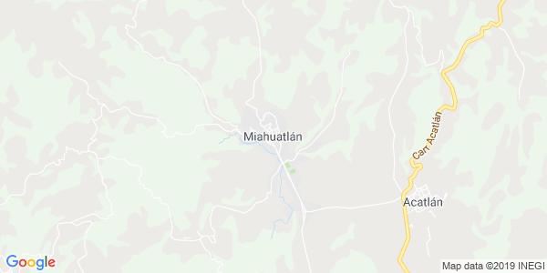 Mapa de MIAHUATLAN