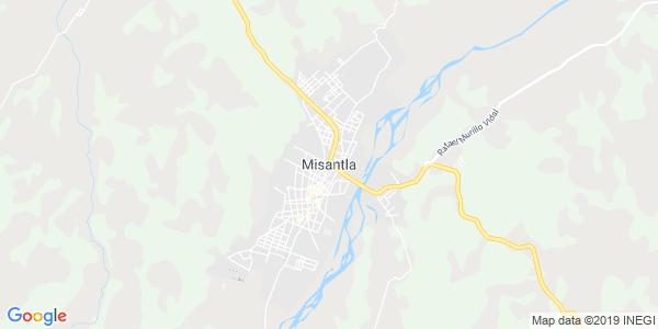 Mapa de MISANTLA