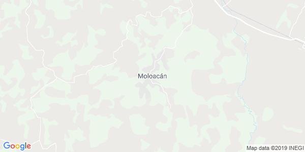 Mapa de MOLOAC�N