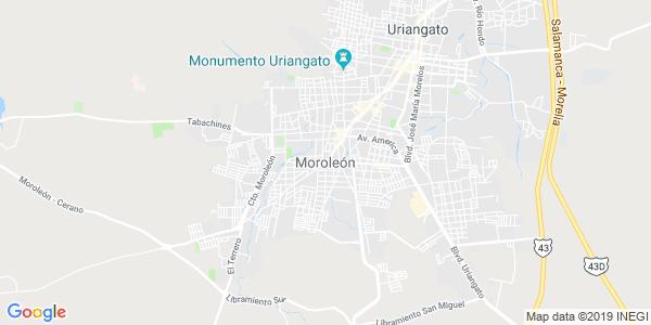 Mapa de MOROLEÓN