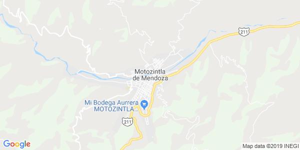 Mapa de MOTOZINTLA