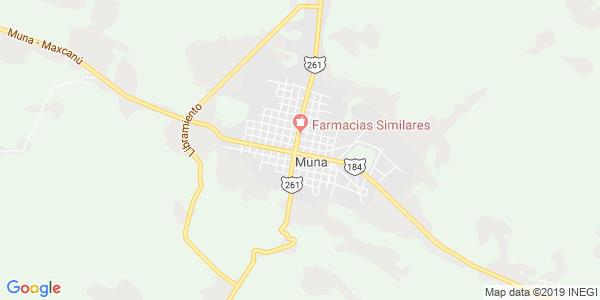 Mapa de MUNA