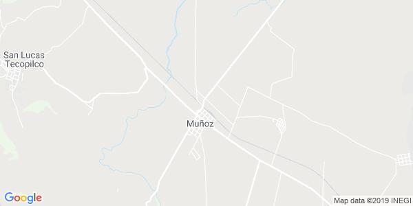 Mapa de MUÑOZ DE DOMINGO ARENAS