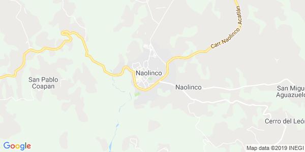 Mapa de NAOLINCO