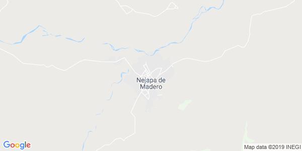 Mapa de NEJAPA DE MADERO