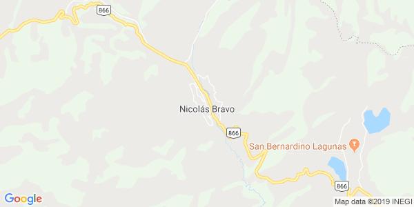 Mapa de NICOL�S BRAVO