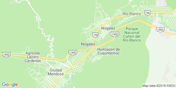 Mapa de NOGALES