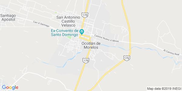 Mapa de OCOTL�N DE MORELOS