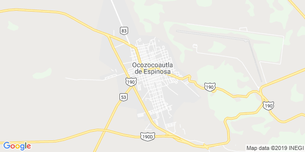 Mapa de OCOZOCOAUTLA DE ESPINOSA
