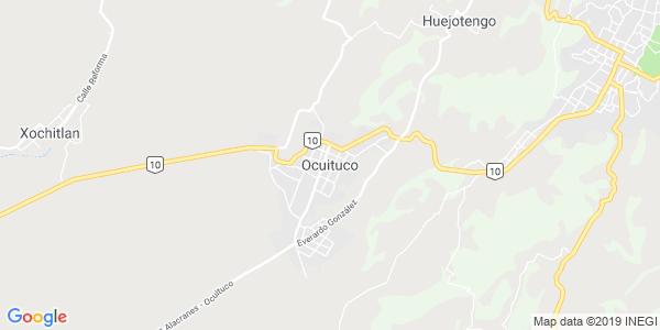 Mapa de OCUITUCO