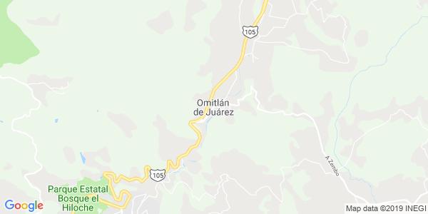 Mapa de OMITLÁN DE JUÁREZ