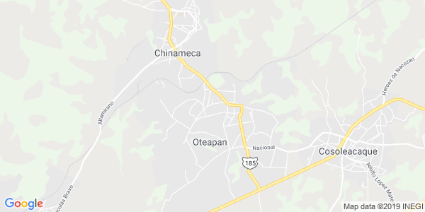 Mapa de OTEAPAN