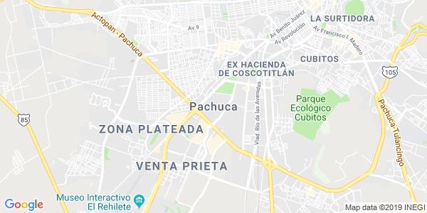 Mapa de PACHUCA DE SOTO