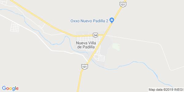 Mapa de PADILLA