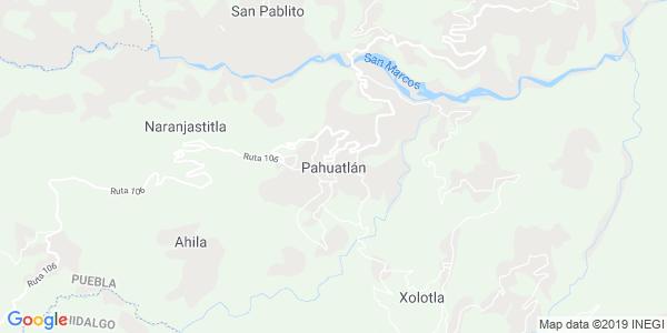 Mapa de PAHUATL�N