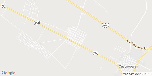 Mapa de PALMAR DE BRAVO