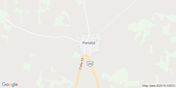 Mapa de PANAB�