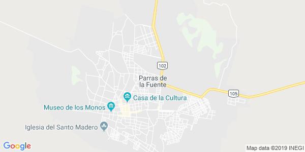Mapa de PARRAS