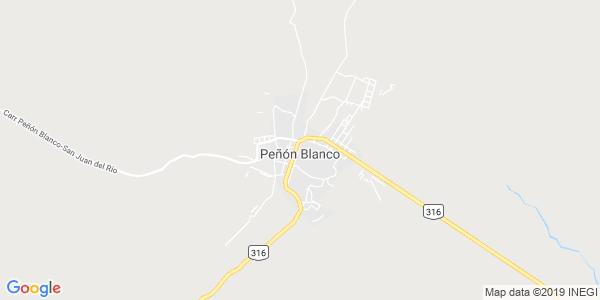Mapa de PE��N BLANCO