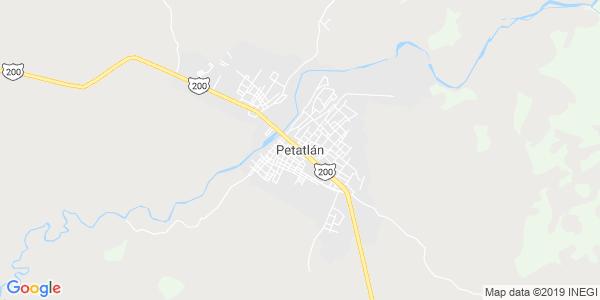 Mapa de PETATLÁN