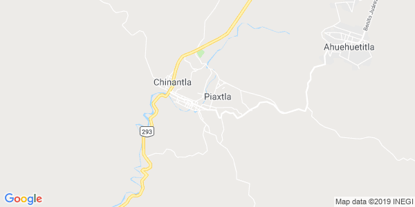 Mapa de PIAXTLA