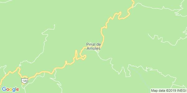 Mapa de PINAL DE AMOLES