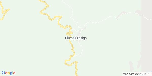 Mapa de PLUMA HIDALGO