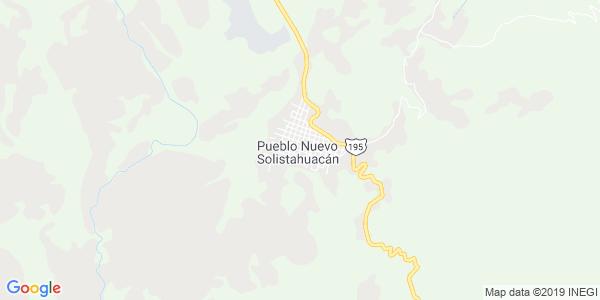 Mapa de PUEBLO NUEVO SOLISTAHUACÁN