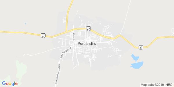 Mapa de PURUÁNDIRO