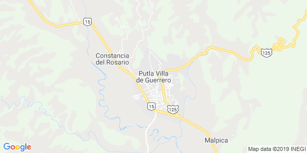 Mapa de PUTLA VILLA DE GUERRERO