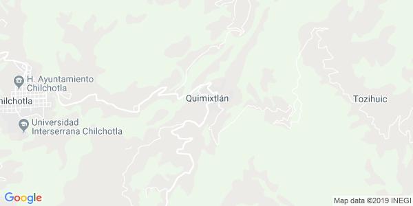 Mapa de QUIMIXTL�N