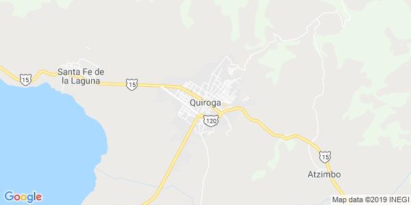 Mapa de QUIROGA